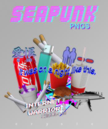 seapunk pngs