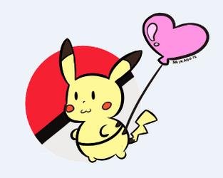 Pikachu~ by Arikado12