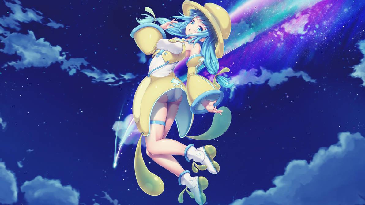 Anime 4k Wallpaper: [Wallpaper Engine] Galaxy Sky
