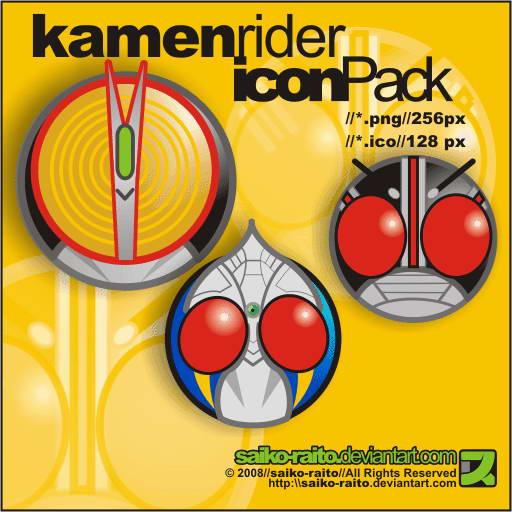 Download Kamen Rider Icon Pack