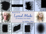 Lyrical Mask Brushes