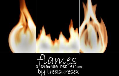 Flames by treasuresex