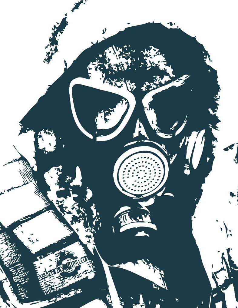Gasmask Stencil by doktorasta on DeviantArt