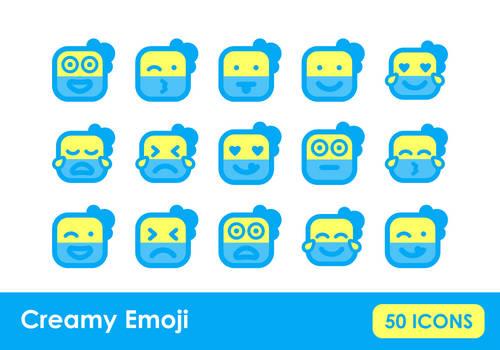 Creamy Emoji