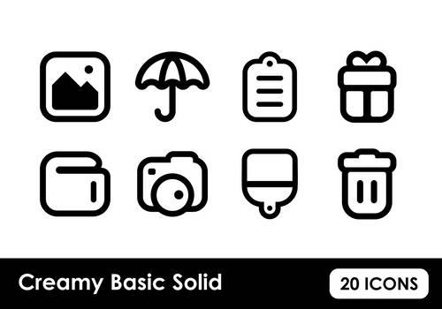 Creamy Basic Solid