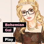 ..Bohemian Gal.. MEGA DRESS UP