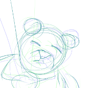 Tidy bear by Louvan