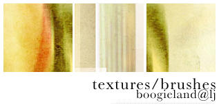 Brushes Textures 1 by letsboogiie