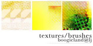 Brushes Textures 6 by letsboogiie