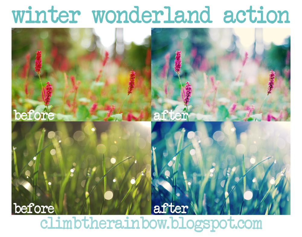 winter wonderland action