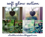 soft glow action