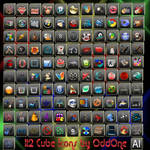 112 Cube icons