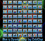 Some Blue Icons