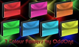 7 color Folders