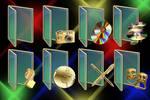 Glass n Gold Folders
