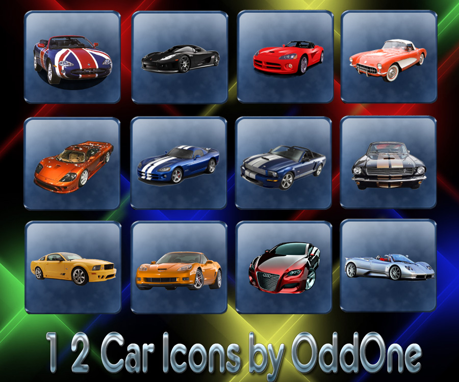 12 Car Icons