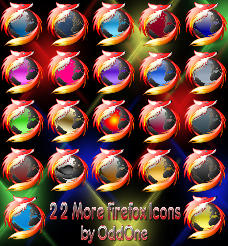 22 More Firefox Icons