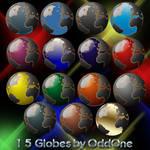 15+1 Globes