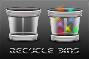 Recycle Bins II by 0dd0ne