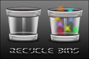 Recycle Bins II by 0dd0ne