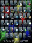 40 Metal Folders Ver II