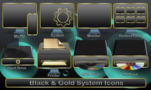 Black System Icons