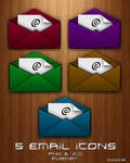 EMail Dock Icons