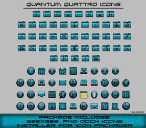 Quantum Quattro Icons