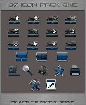 Q7 Icon Pack I
