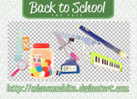 Back to School - PNG PACK