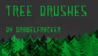 Tree Brushes by DrowElfRocker