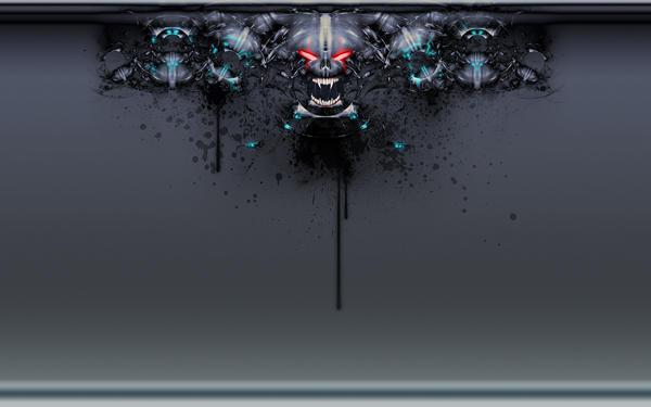 Grunge Demon Wallpaper pack by GrungeTV
