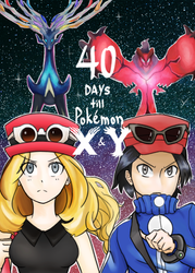 Pokemon X and Y Countdown