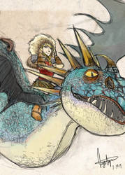 Astrid and Stormfly