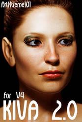 Kiva 2.0 (FREE Morph for V4) by ArtXtreme101