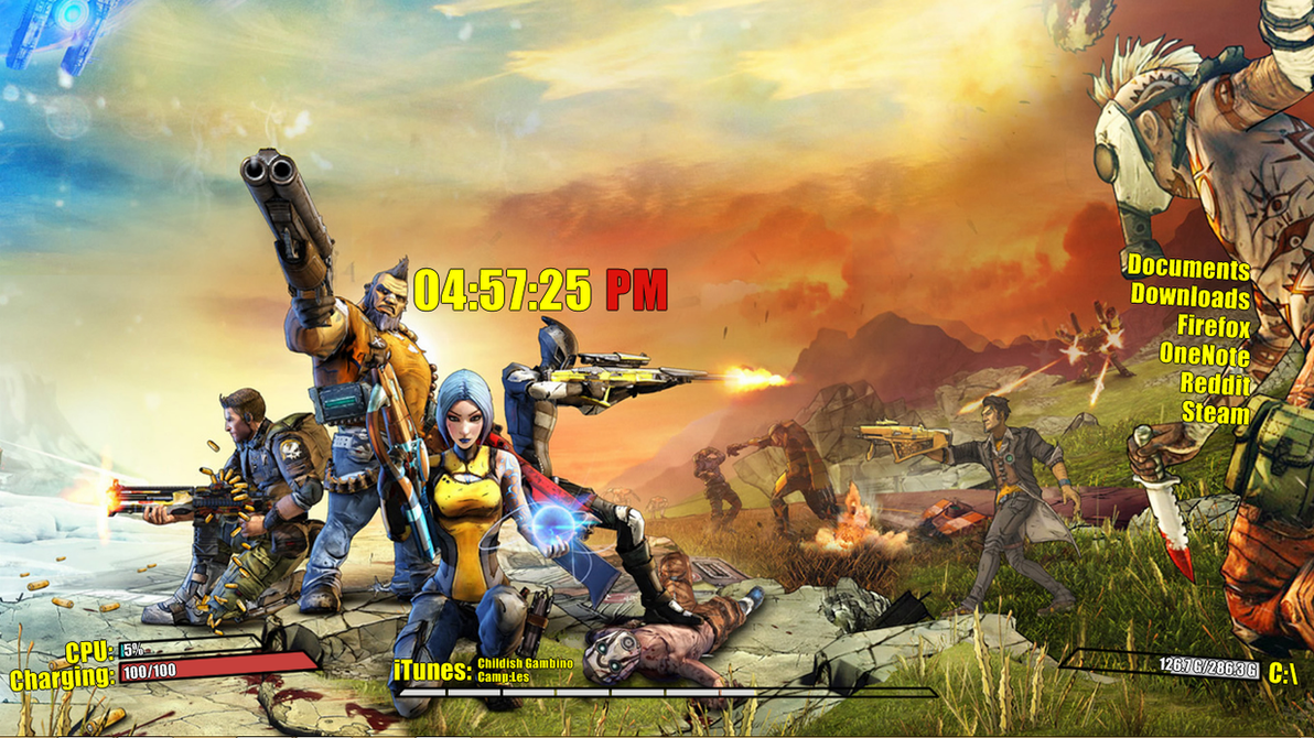 Borderlands Theme by SSRATT