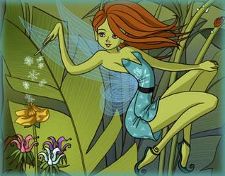 210. Forest pixies - Menthol by Erozja
