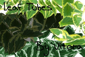 Leaf Tubes-Set of 3 by Vitora