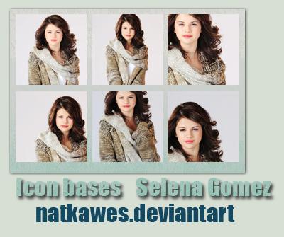 selena gomez icons. Icon bases - Selena Gomez 3 by