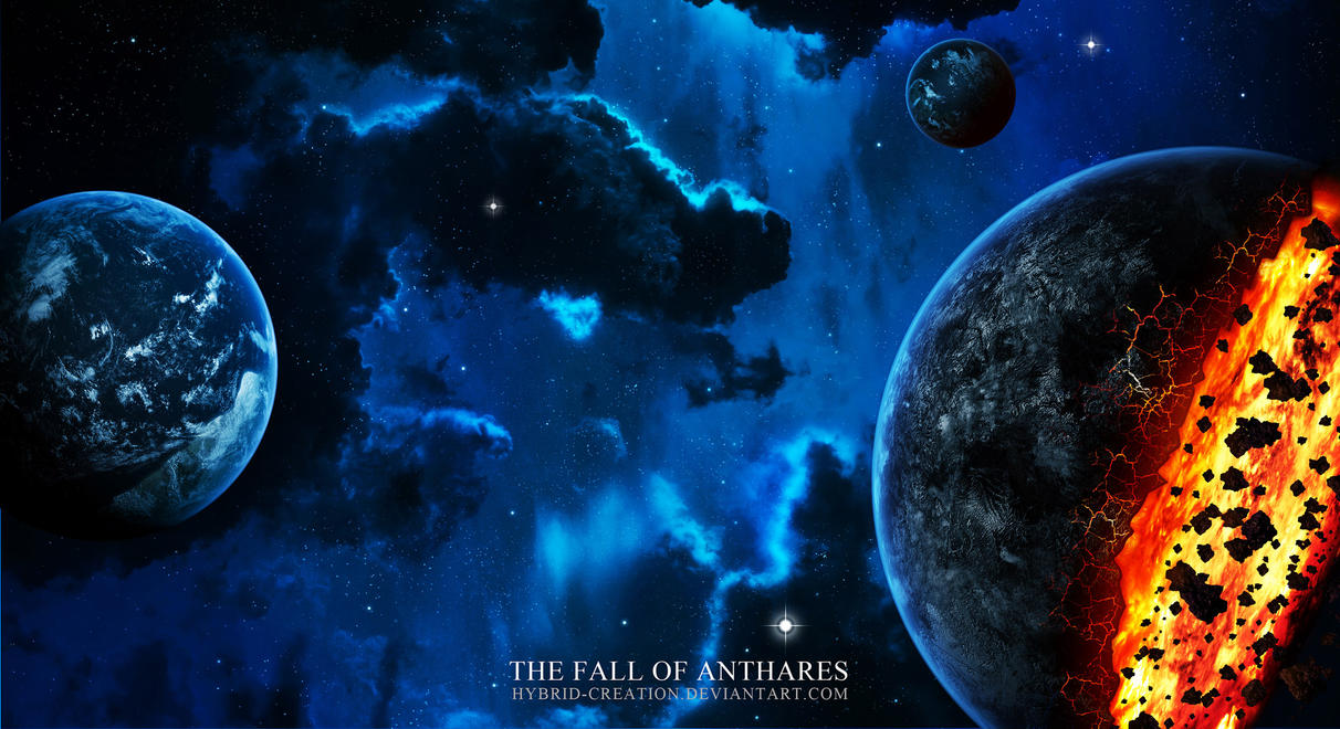 the fall of anthares by Hybrid-creation