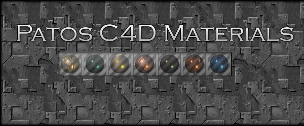Patos C4D Materials by pato92