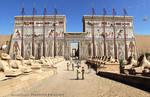 Ingresso Tempio di Karnak (animation)