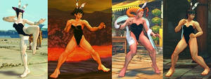 SSF4 Mods - Playboy Bunnies Collection Part 2