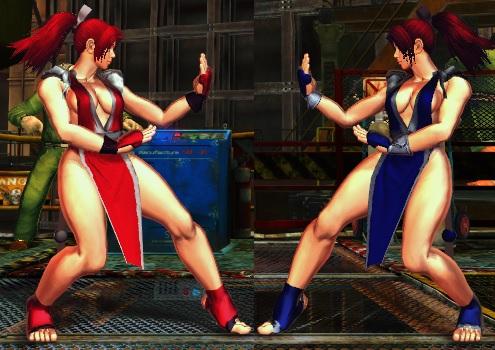SFxT Mod - Chun Li: Mai Shiranui Cosplay by Segadordelinks