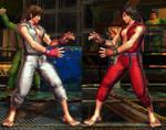 SFxT Mod - Asuka: Ryu Cosplay