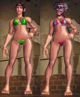 SFxT Mod - Julia: Bikini by Segadordelinks