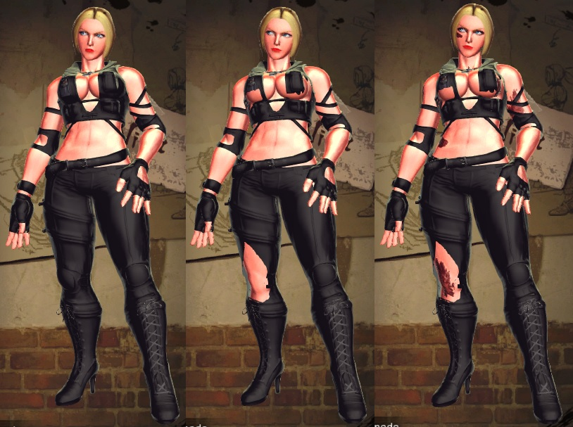 Sfxt Mod Nina Sonya Blade Cosplay By Segadordelinks On