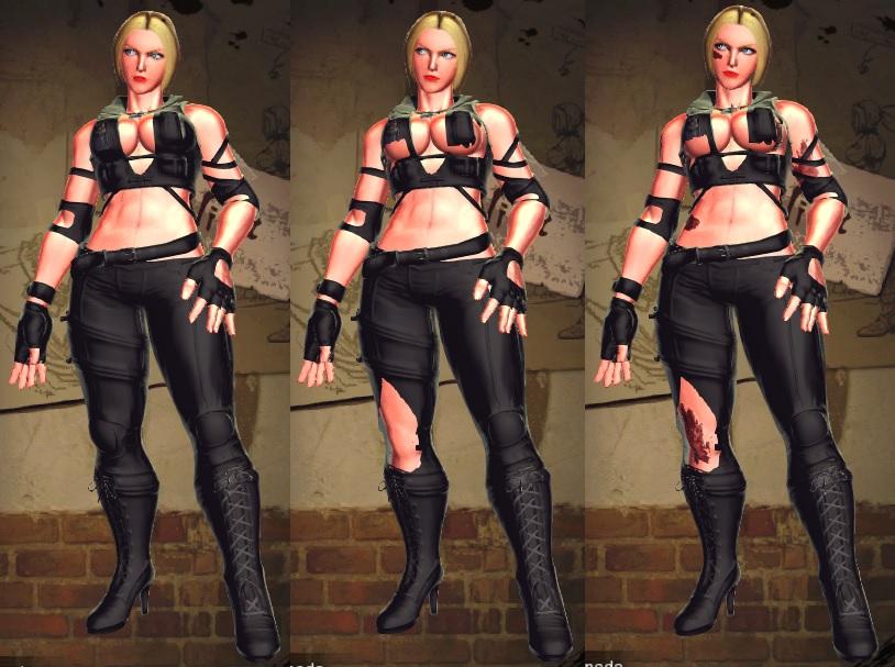 SFxT Mod - Nina: Sonya Blade Cosplay by Segadordelinks