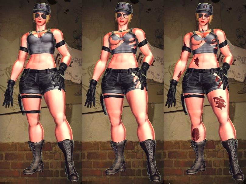 SFxT Mod - Nina: Sonya Blade Alt Cosplay by Segadordelinks