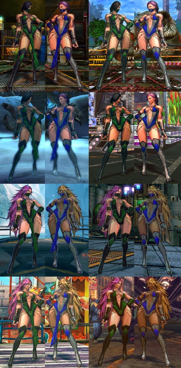 SFxT Mod - Poison: Jade Cosplay by Segadordelinks